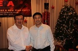 President and Assitant Minister Mr Liu Jianchao